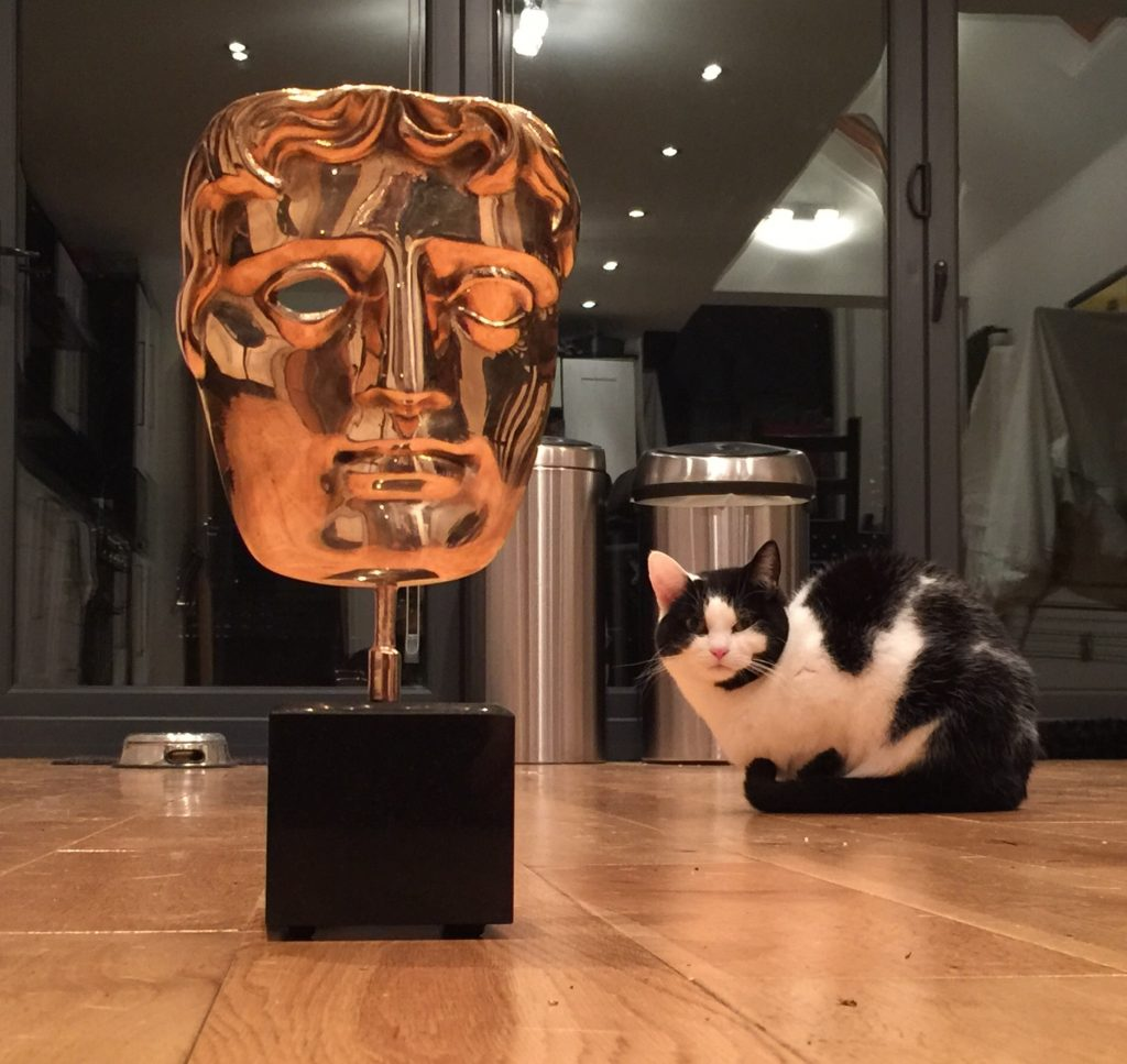 Cat and BAFTA
